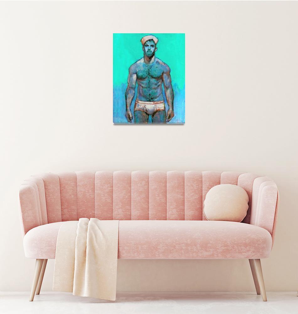 """""""Mint Sailor Aqua Blue""""  (2020) by RDRiccoboni"""