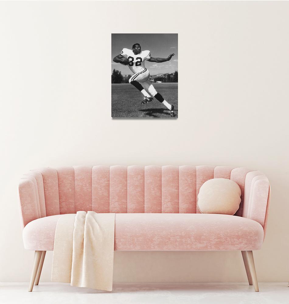 """Jim Brown""  by RetroImagesArchive"