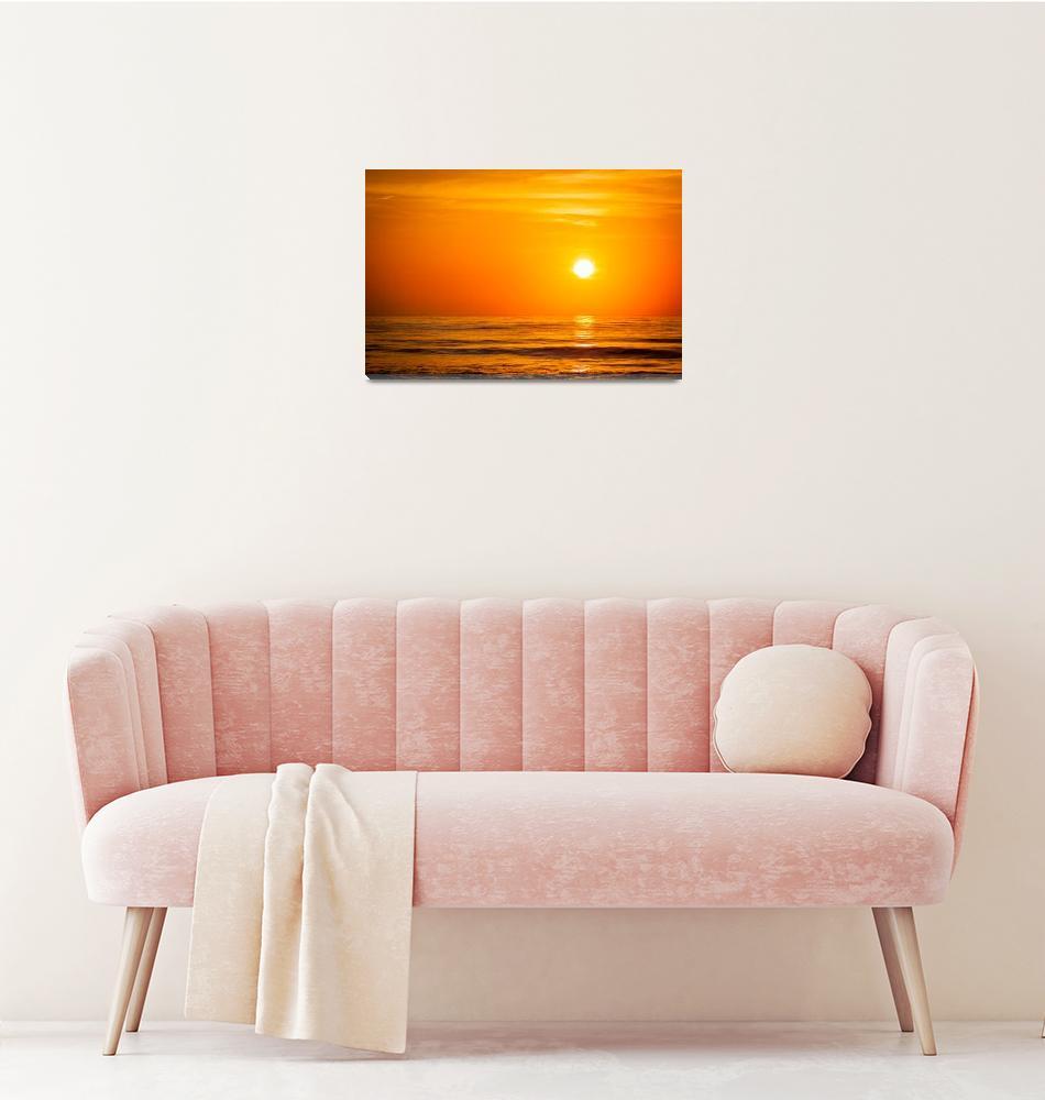 """""""Tybee Island Sunrise""""  (2014) by wmdouglasphotography"""
