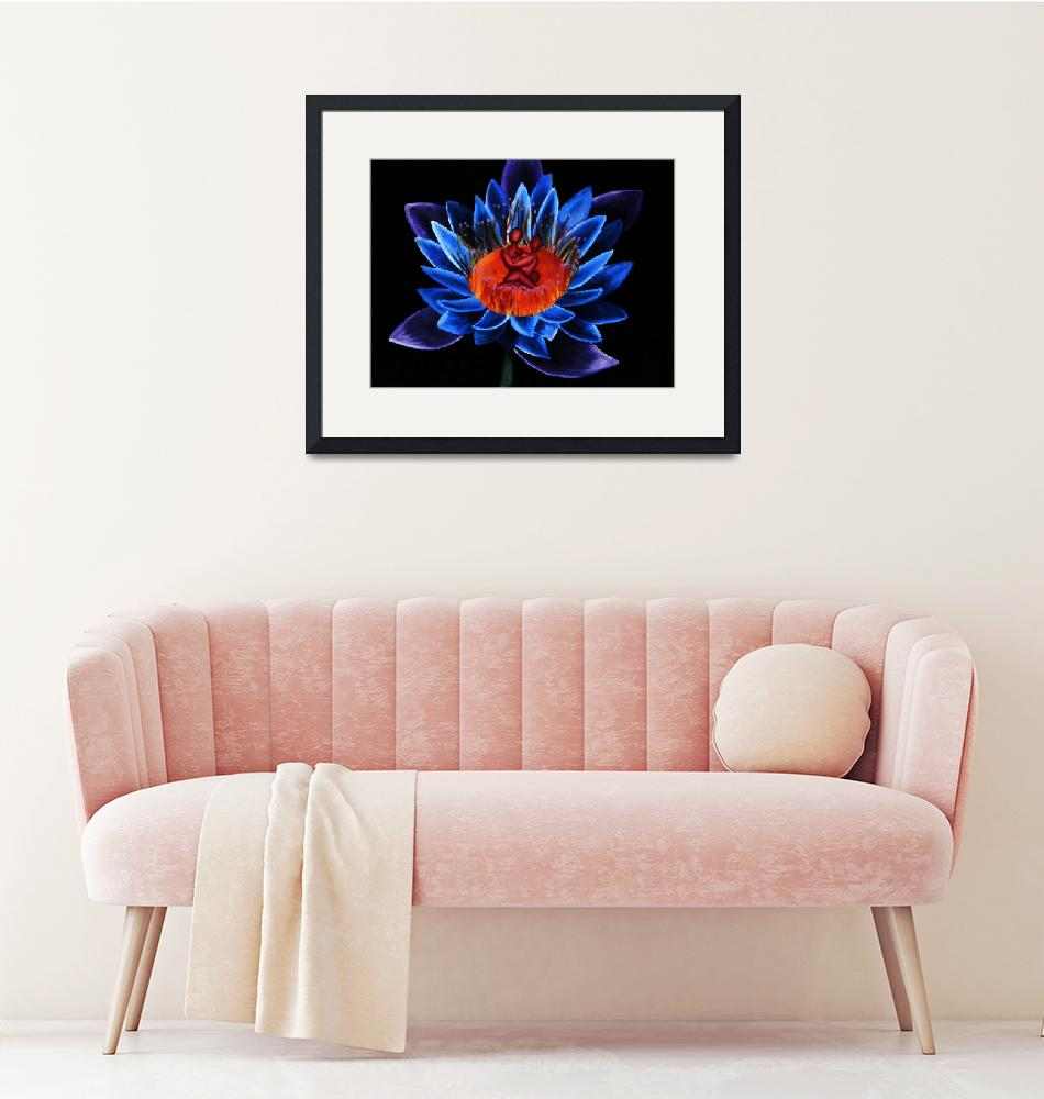 """""""Lotus in Tranquility""""  (2012) by Pandra411"""