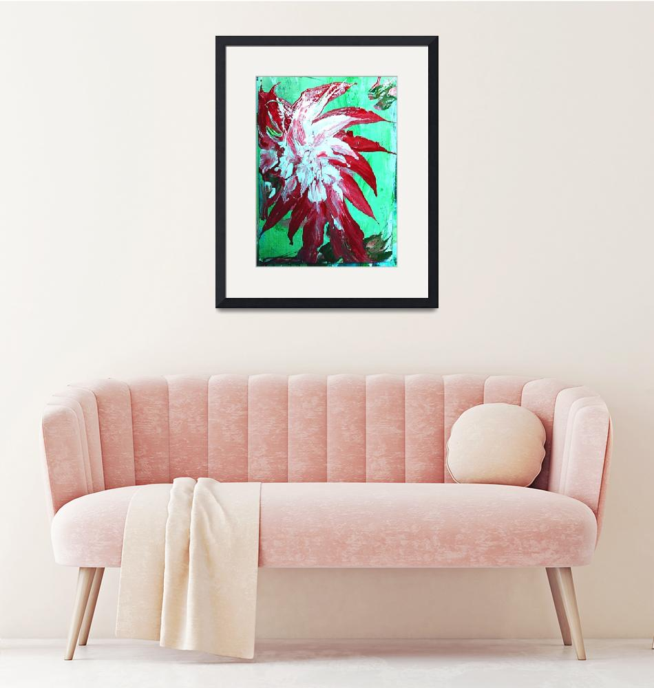 """""""Tropical Flower"""" (2018) by Galleria-Monte"""