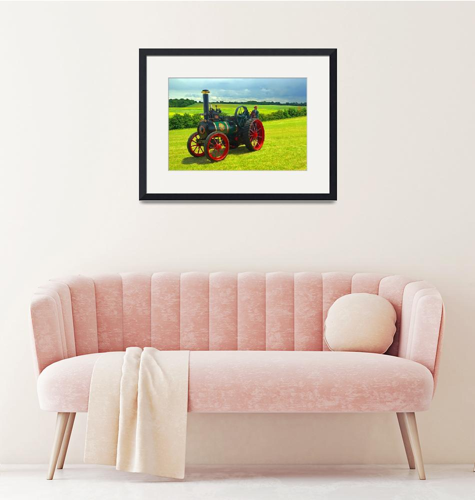 """Steam Traction Engine""  (2011) by loversdream"