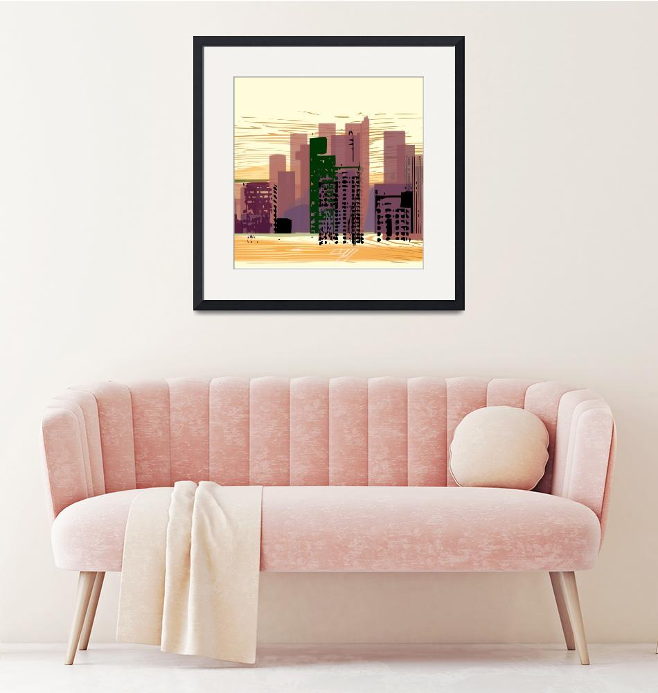 """""""City (square)""""  (2018) by charker"""
