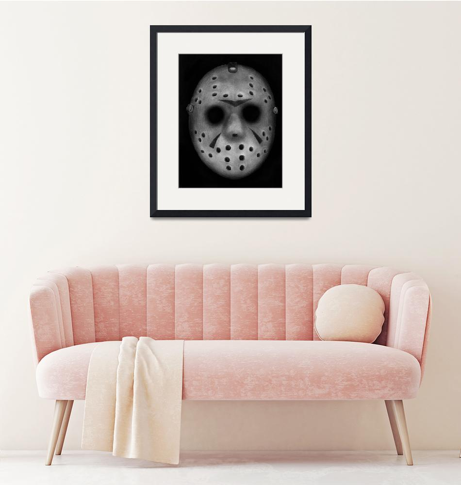 """Jason Vorhees""  (2011) by axemangraphics"