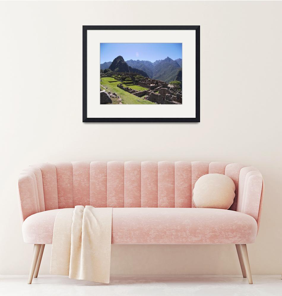 """Machu Picchu 4""  (2007) by burnsgolf"