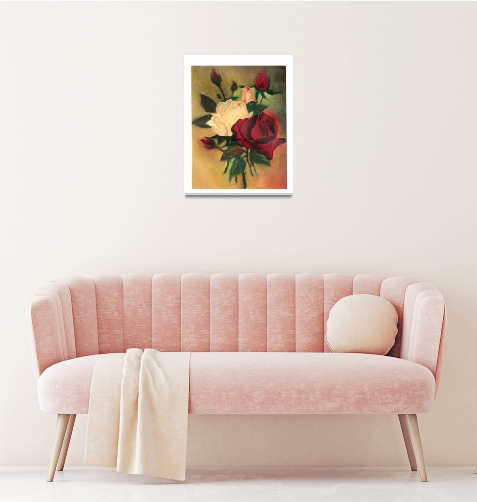 """A Study Of Flowers.....""  (2008) by JohnWoodruff"