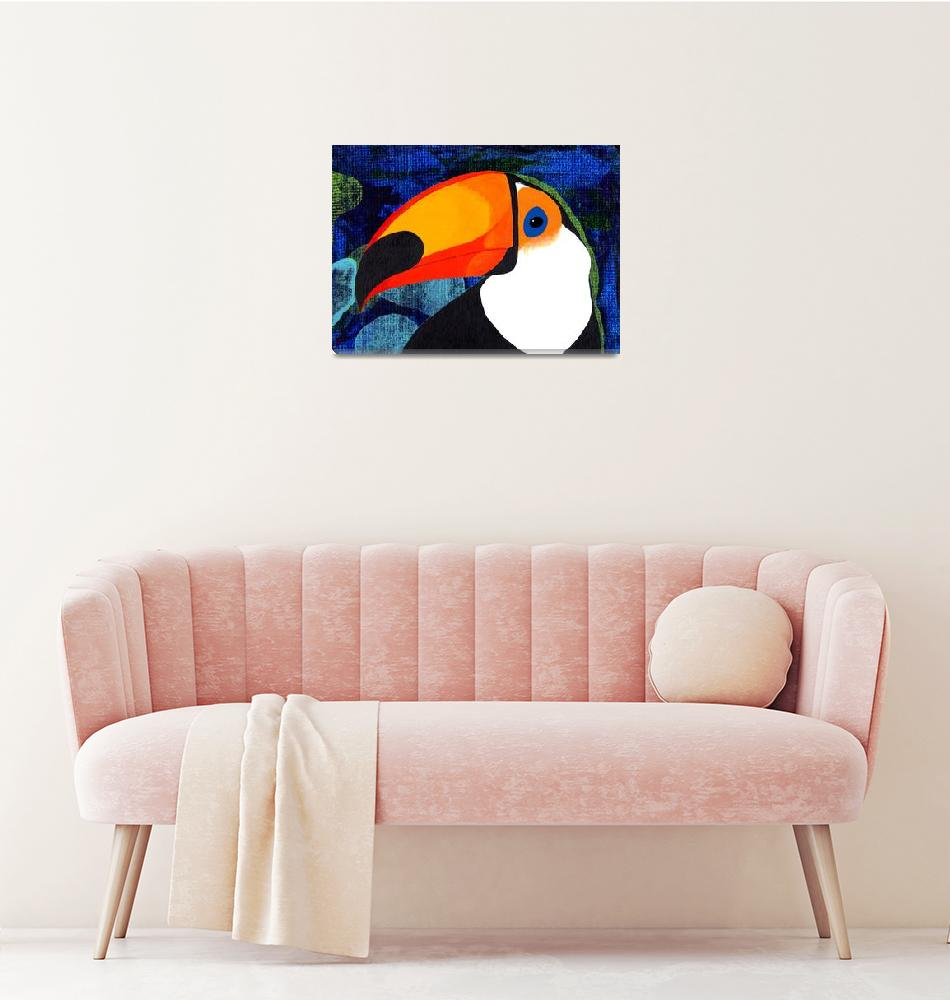 """""""Toucan V, the saga continues""""  (2013) by LimeCreekArt"""