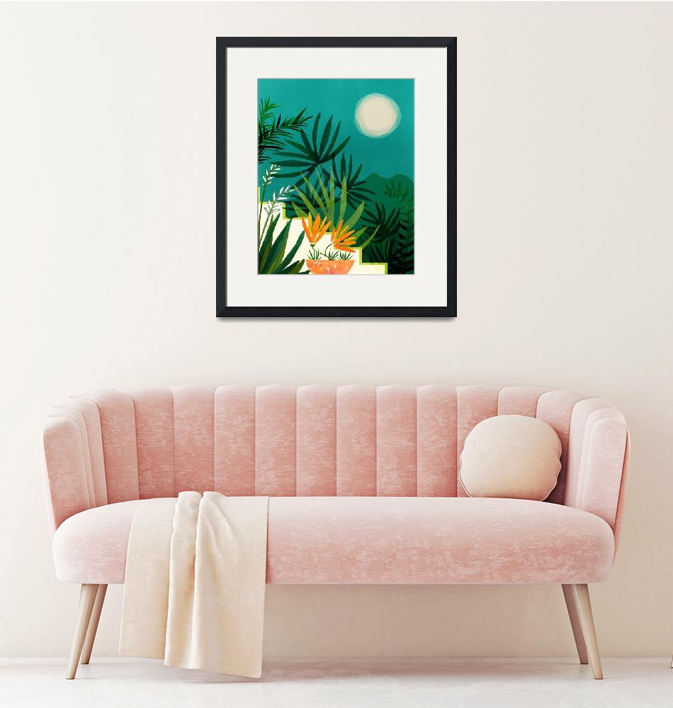 """""""Tropical Moonlight""""  (2019) by moderntropical"""