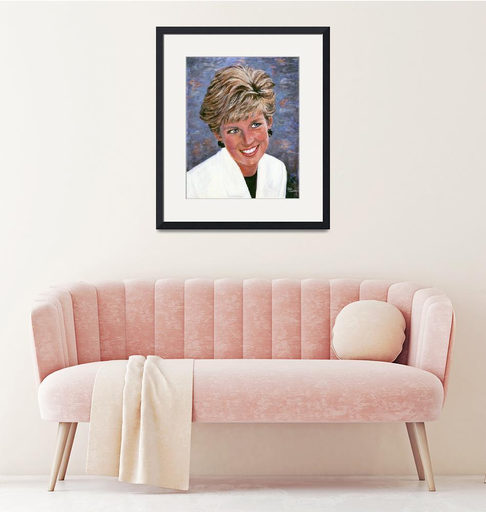 """""""Princess Diana""""  (2009) by GiniWahlen"""