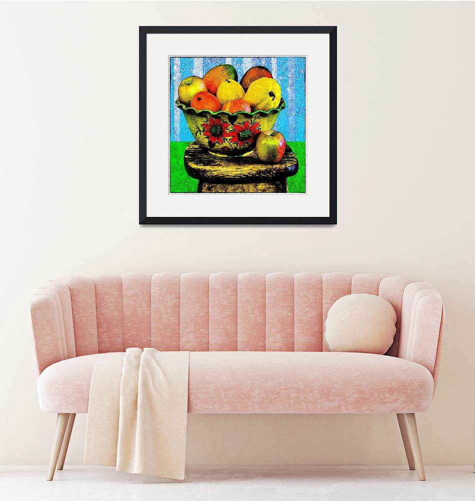"""""""Fruit-e Toot-e""""  (2012) by electrictwig"""