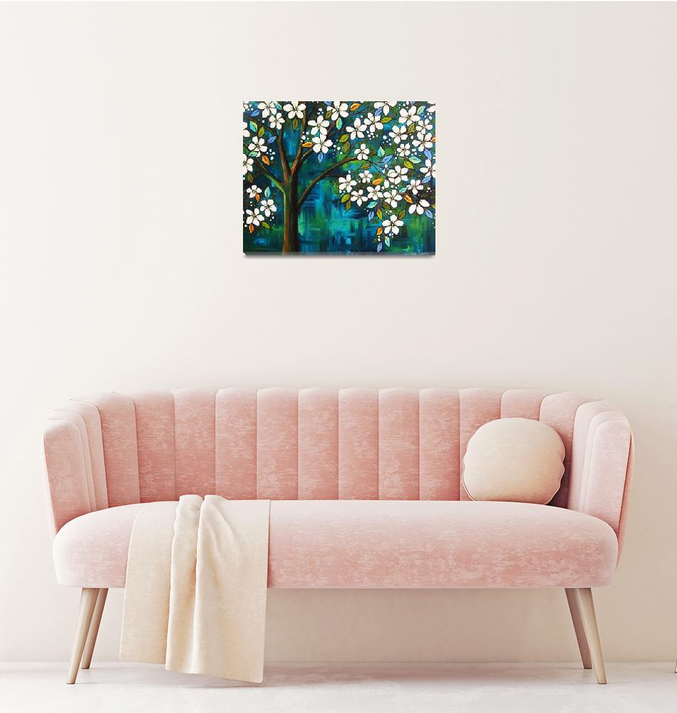 """Blossom Tree""  (2008) by PeggySueDavis"