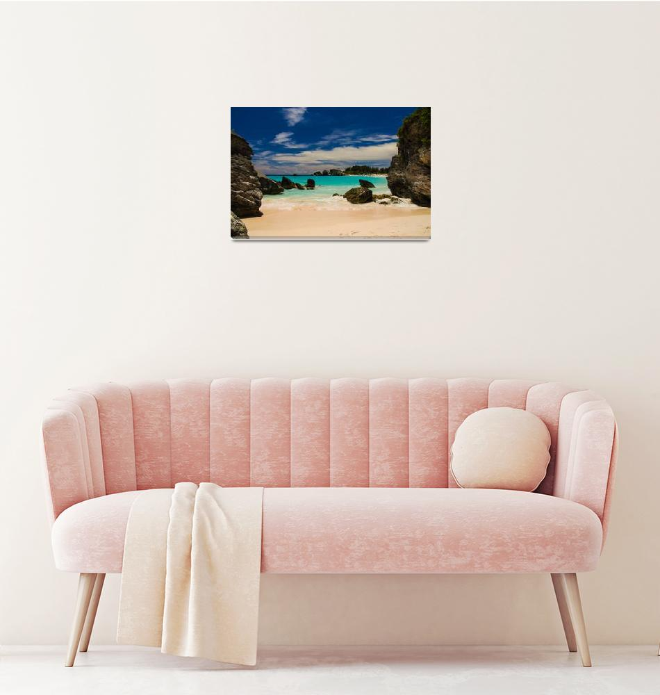 """Horseshoe Bay, Bermuda.""  (2013) by melcharles"