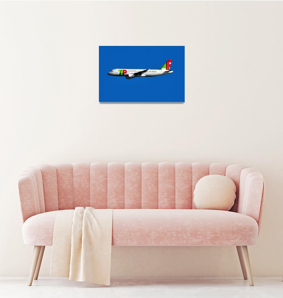 """""""TAP A320, CS-TNQ""""  (2009) by JoaoPonces"""