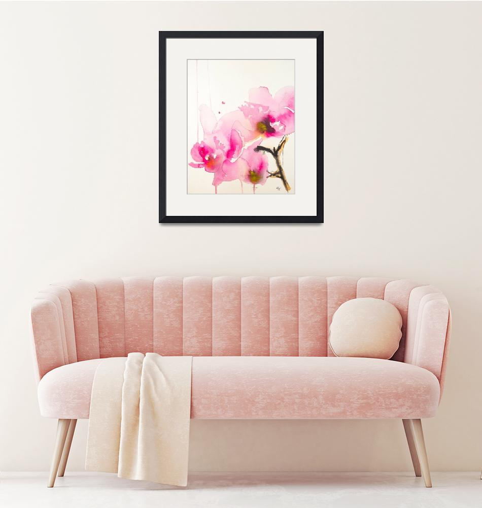 """""""Orchid study II""""  (2013) by KarinJohannesson"""