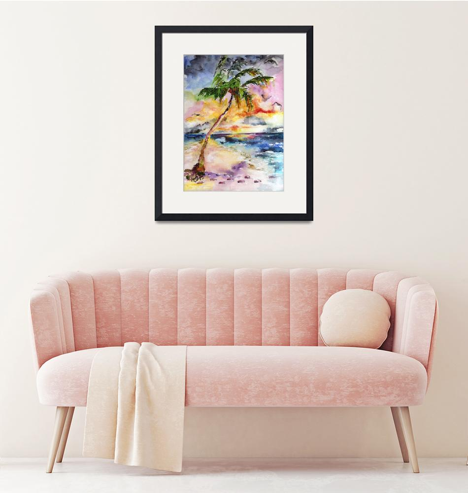 """Palm Beach and Tropical Summer Dreams""  (2015) by GinetteCallaway"