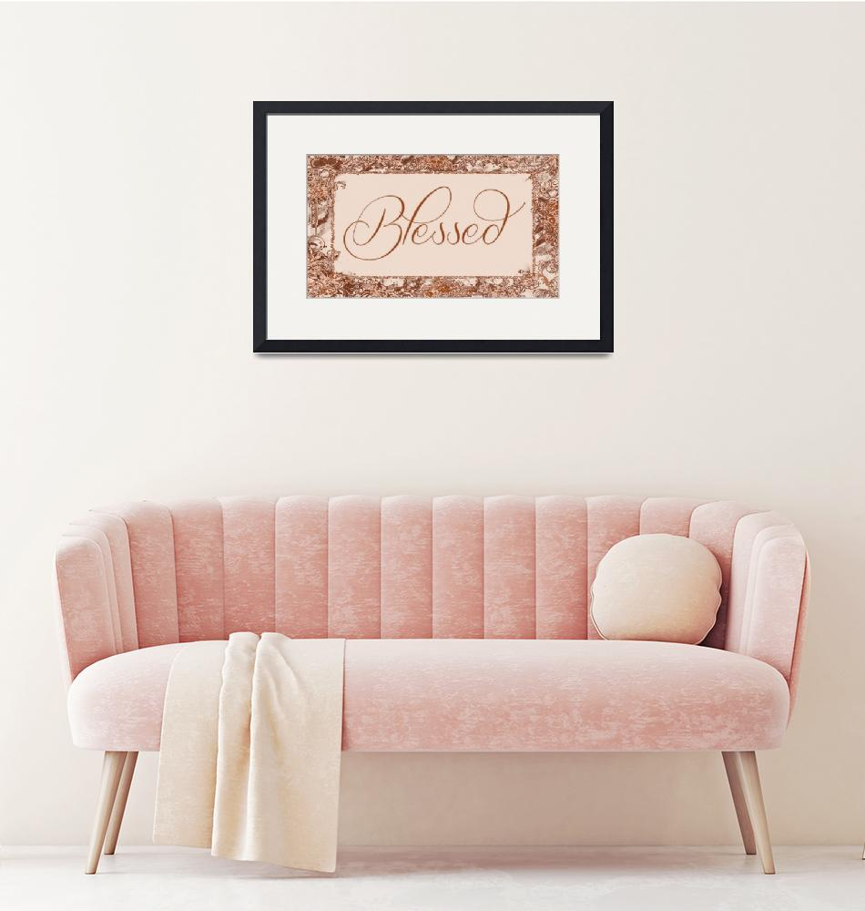 """""""blessed frame copper""""  by lizmix"""