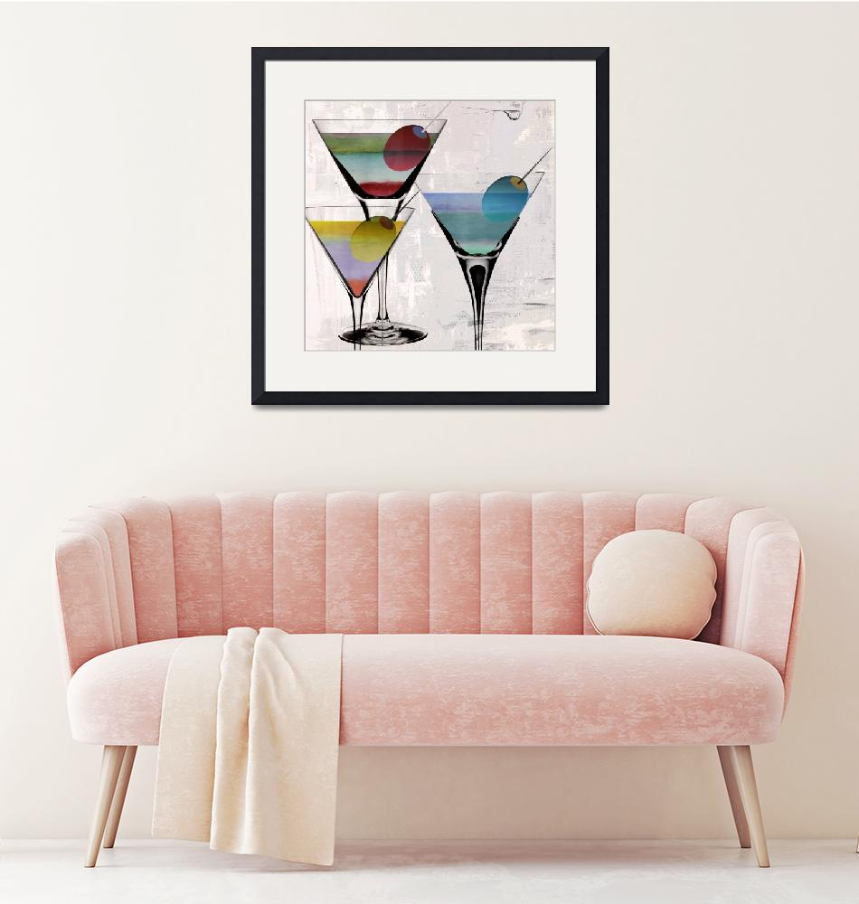 """Prism Martini""  (2018) by MindyDidIt"