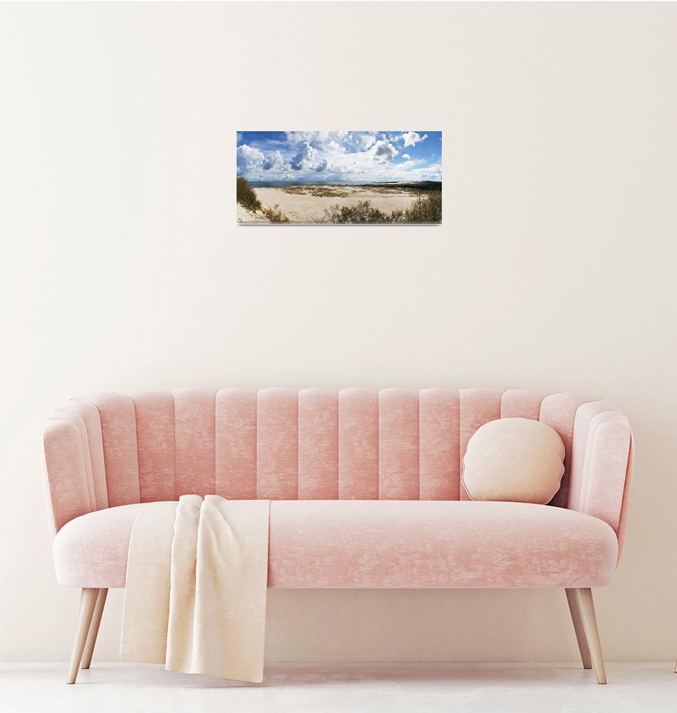 """Seascape panorama""  (2010) by VladimirFomin"