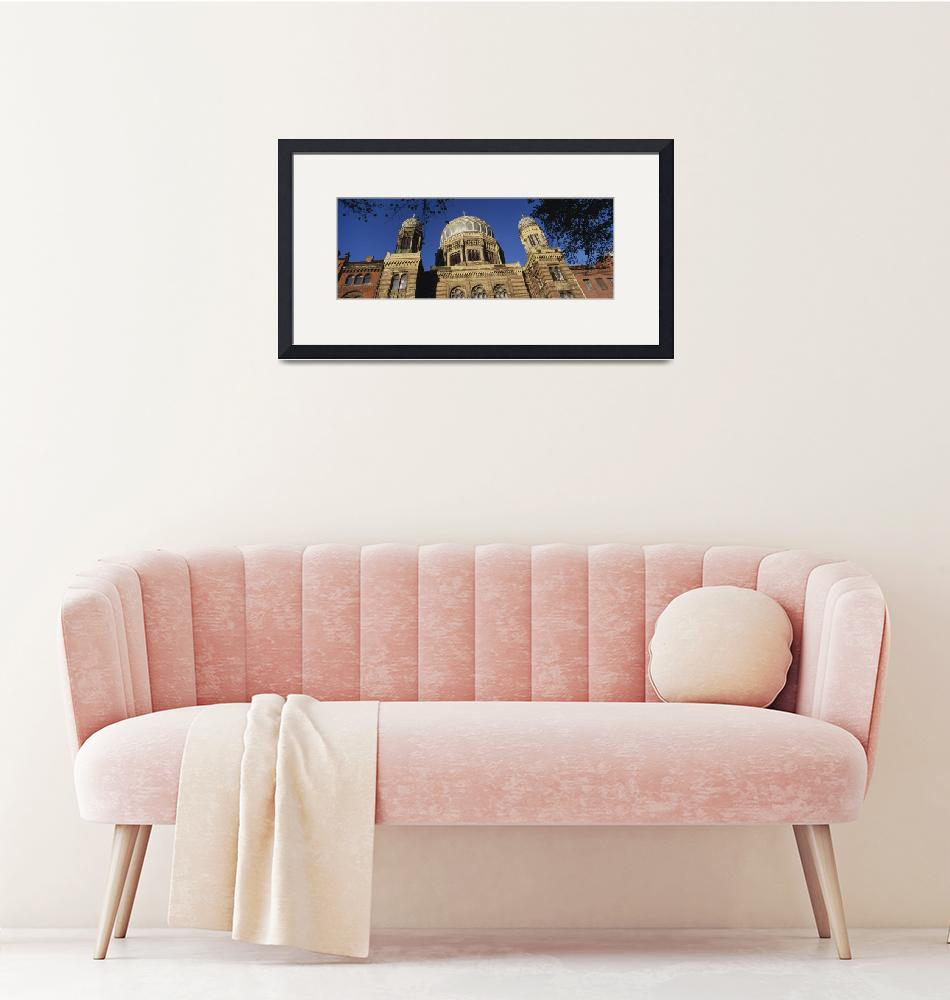 """""""Low angle view of Jewish Synagogue""""  by Panoramic_Images"""