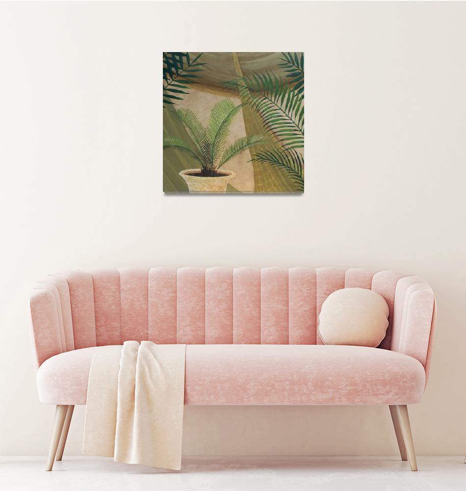 """Palm Pleasure I""  (2009) by HerbDickinson"