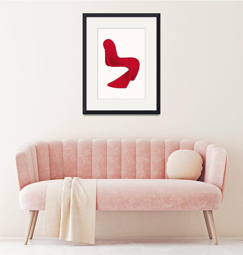 """""""Panton S Chair""""  (2009) by jamesprovost"""