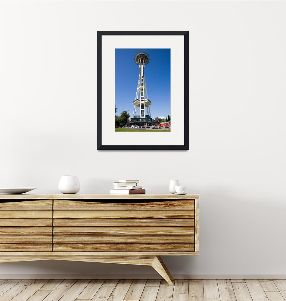 """""""Seattle Center Space Needle 102""""  (2008) by seattlephotographs"""