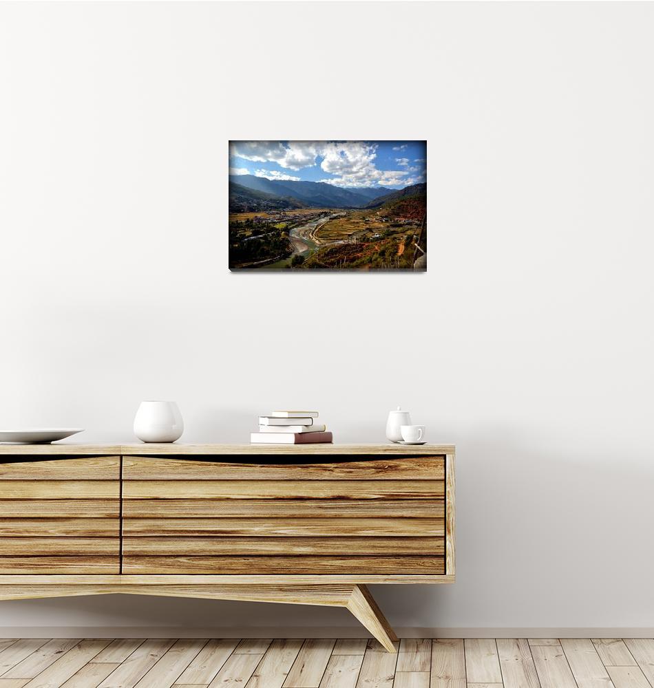 """""""Bhutan. Paro Valley""""  by smieszynkaphoto"""
