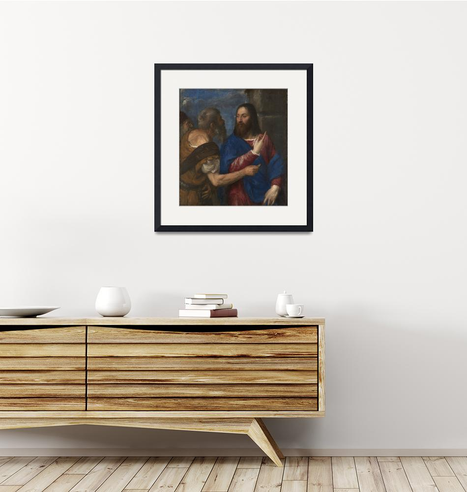 """Titian Art Framed Print""  by buddakats1"