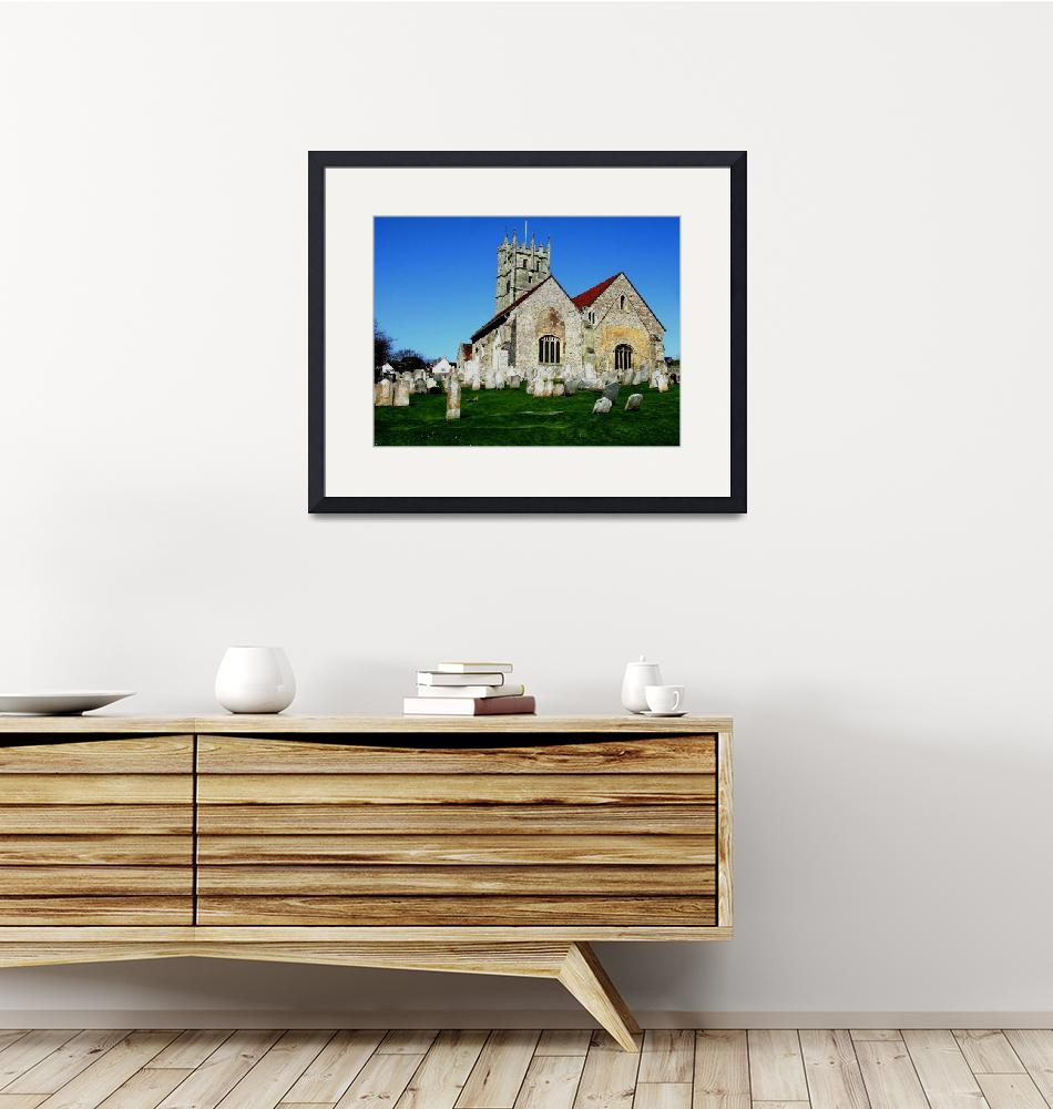 """""""Priory Church Carisbrooke""""  by peterivron"""