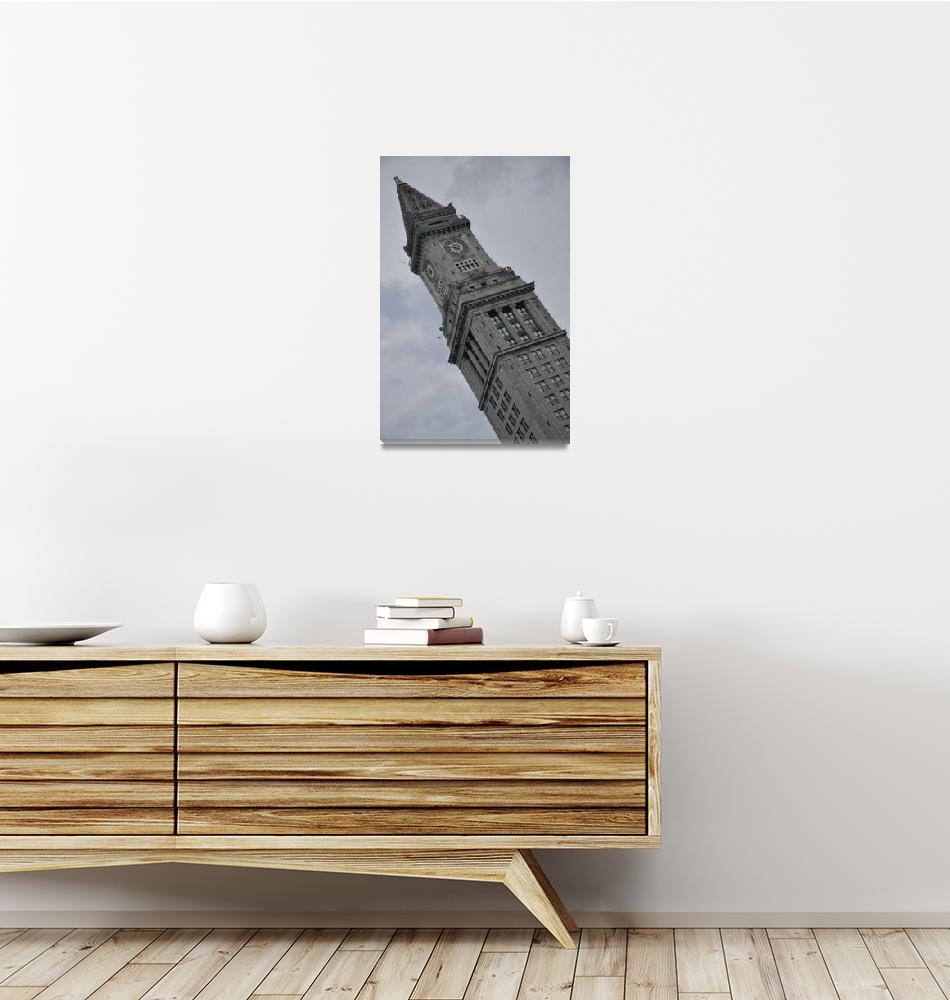 """Boston Custom Tower in Pastel""  (2011) by jkphotos"