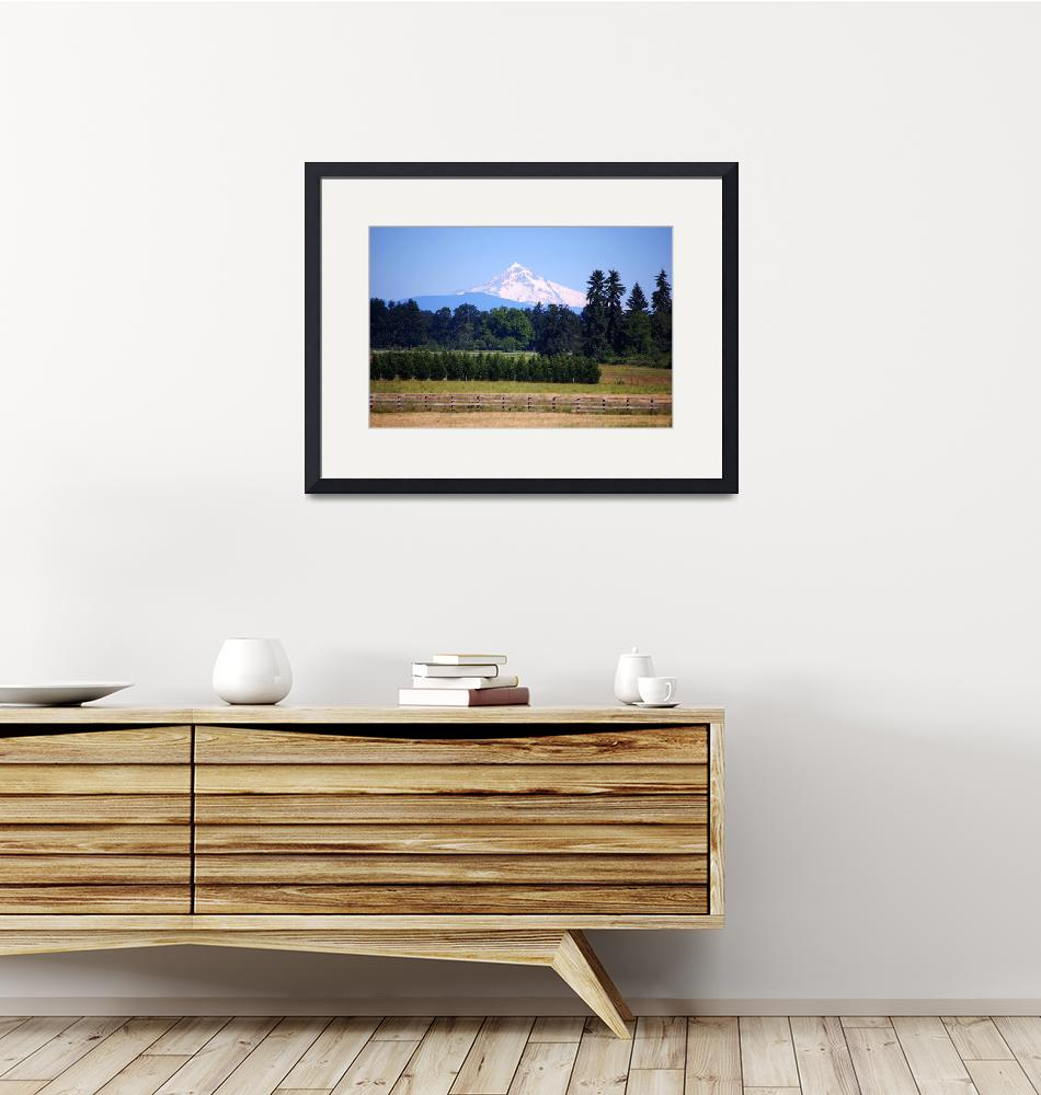 """""""Mt. Hood""""  (2008) by cre8ivepix"""
