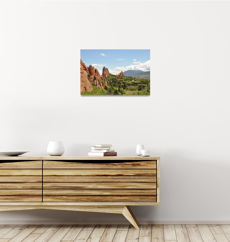 """""""Garden of the Gods - Puzzle""""  (2009) by eileenomalleyphotography"""