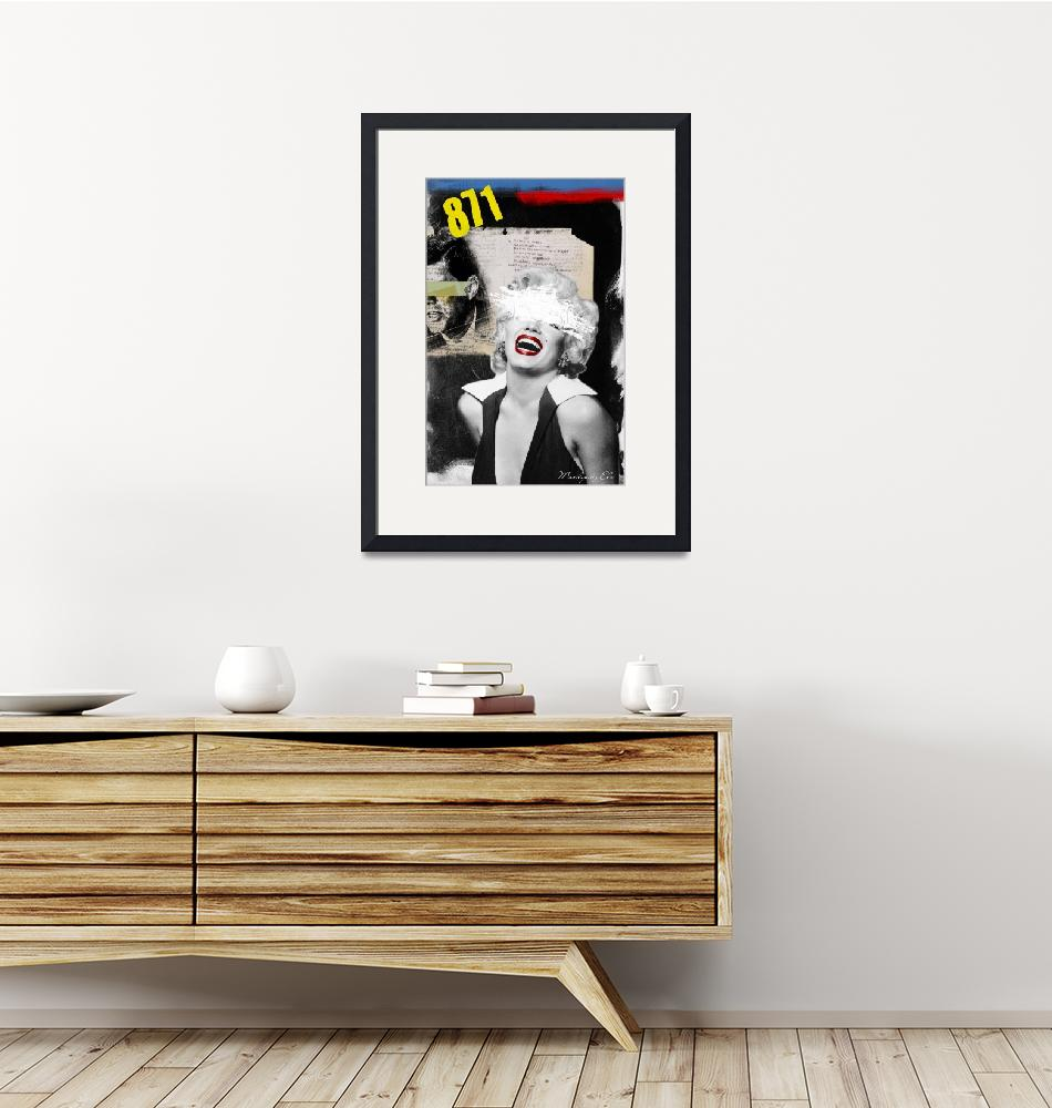 """""""Public Figures Collection - Marilyn""""  (2011) by elodesigner"""