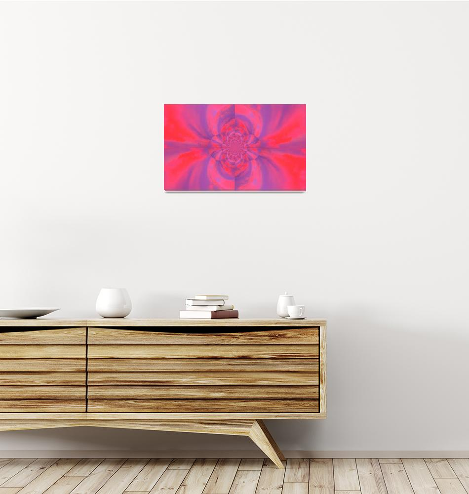 """""""Psychedelic Pink Lotus""""  by Atlantis-Seeker-Art"""