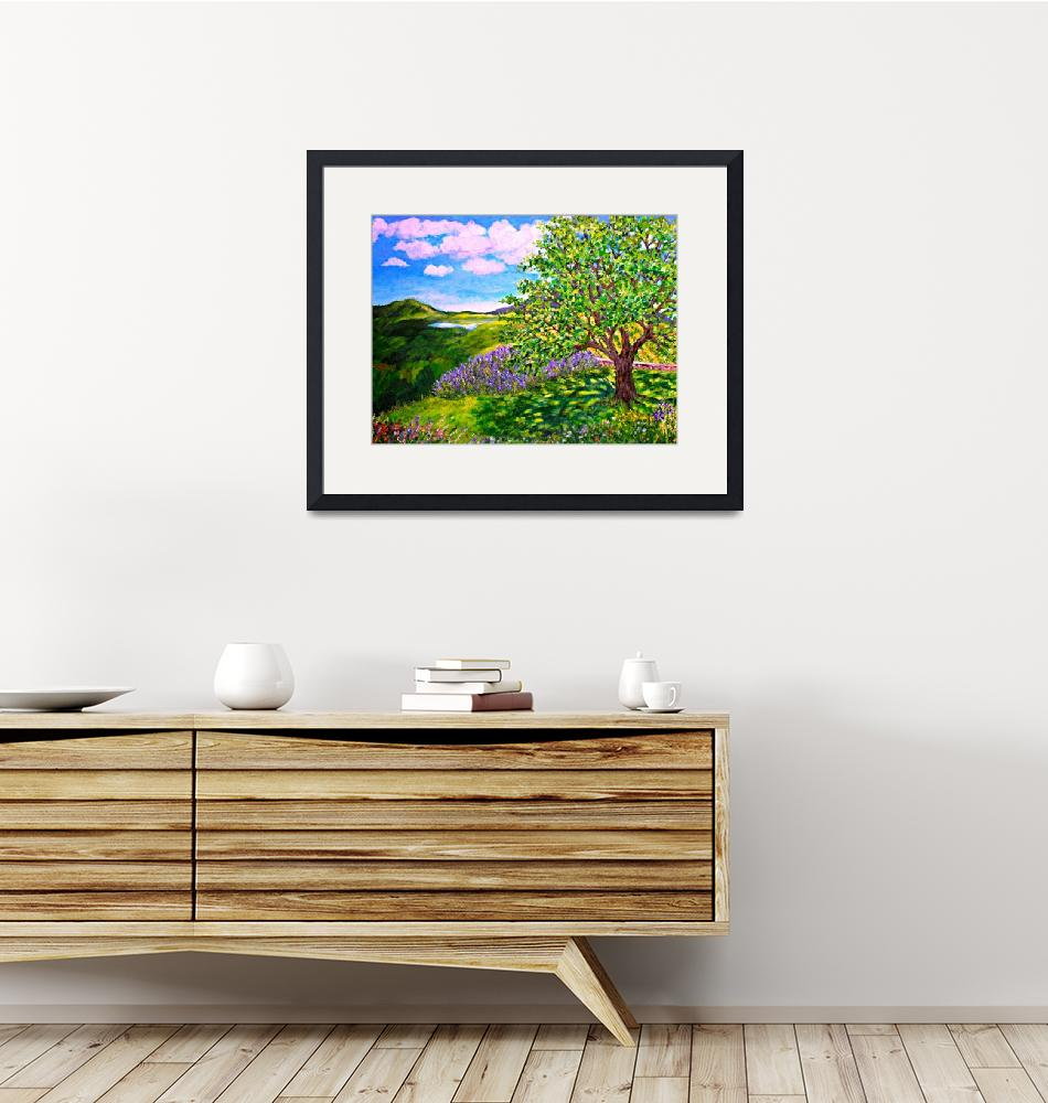"""""""MORNING IN PROVENCE""""  (2019) by LeeAnnZirbesArt"""