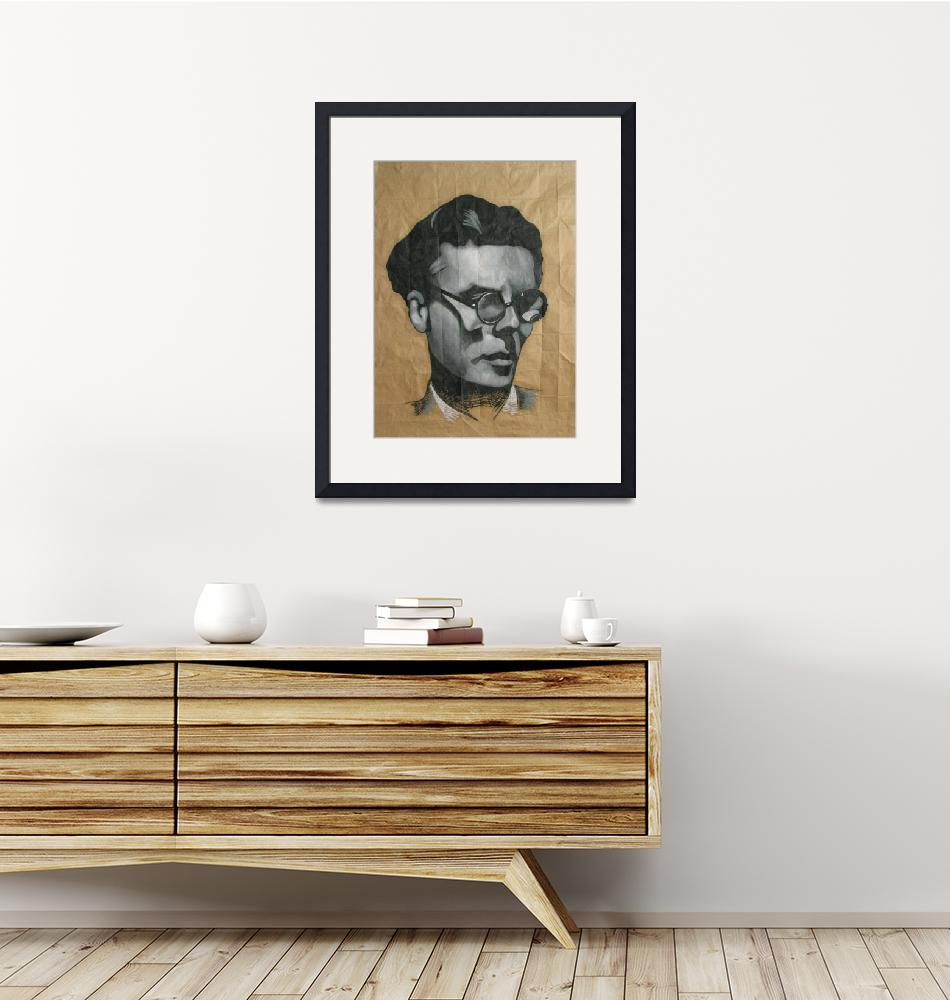 """Aldous Huxley""  (2007) by DevonGrey"
