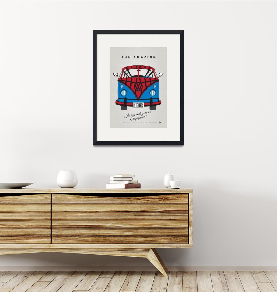 """MY SUPERHERO-VW-T1-spiderman""  by Chungkong"
