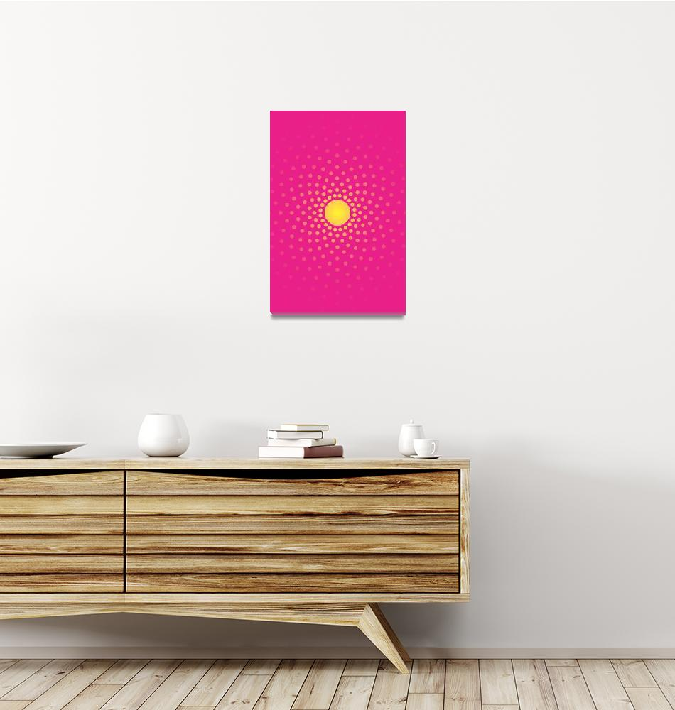 """Abstract Sun 1""  (2011) by jvorzimmer"
