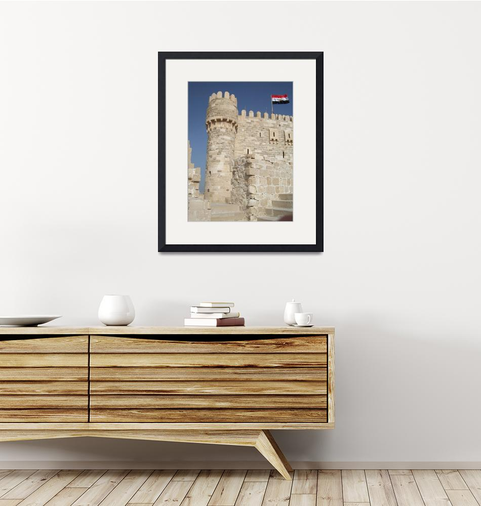 """The Qaitbay Citadel""  (2008) by DonnaCorless"