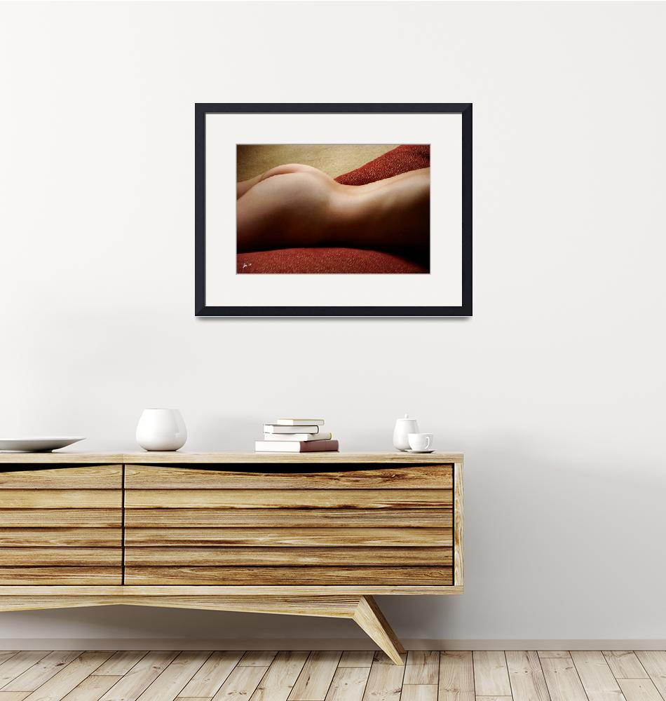 """""""Nude Woman on Pillows 1""""  (2008) by auNaturale"""
