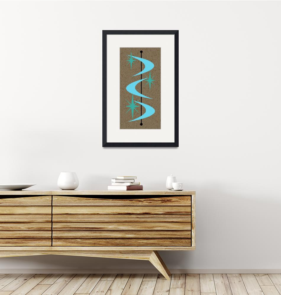 """""""Mid Century Modern Shapes 2""""  by DMibus"""