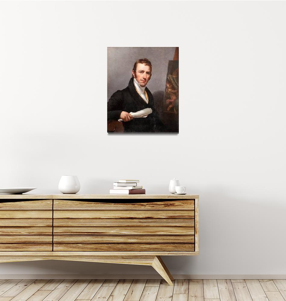 """Jacob Eichholtz~Self-portrait of Jacob Eichholtz""  by Old_master"