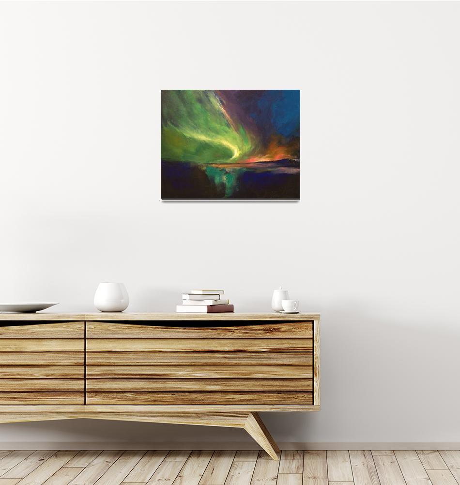 """Aurora Borealis""  by creese"