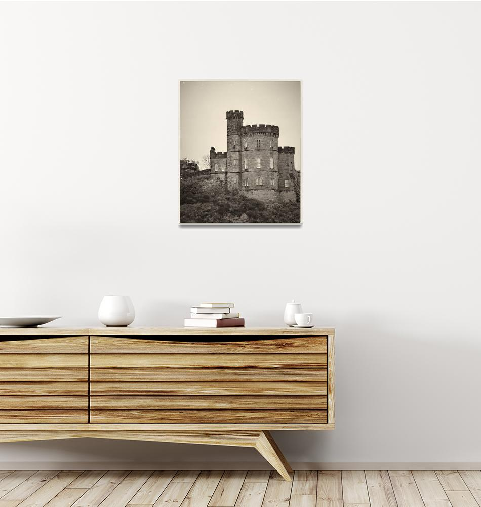 """Edinburgh Castle - Royal Palace""  (2014) by aGeekonaBike"