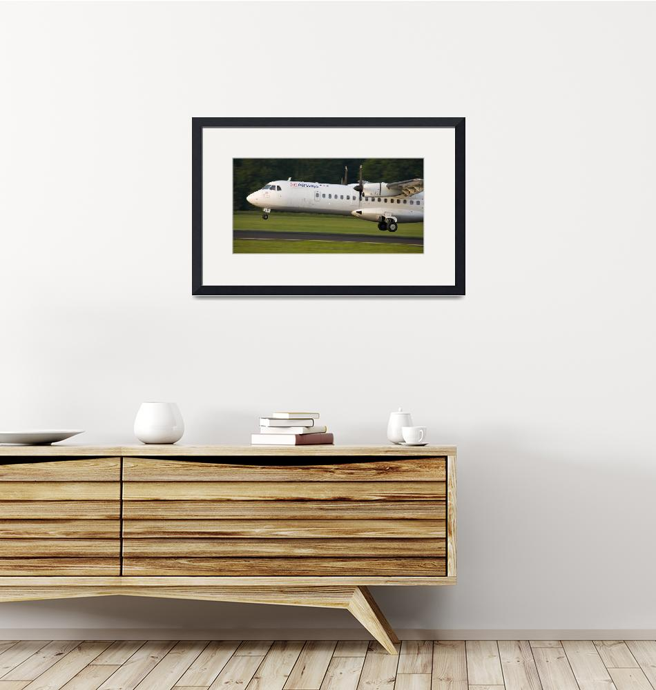 """""""Aircraft landing""""  (2007) by IanMiddletonphotography"""