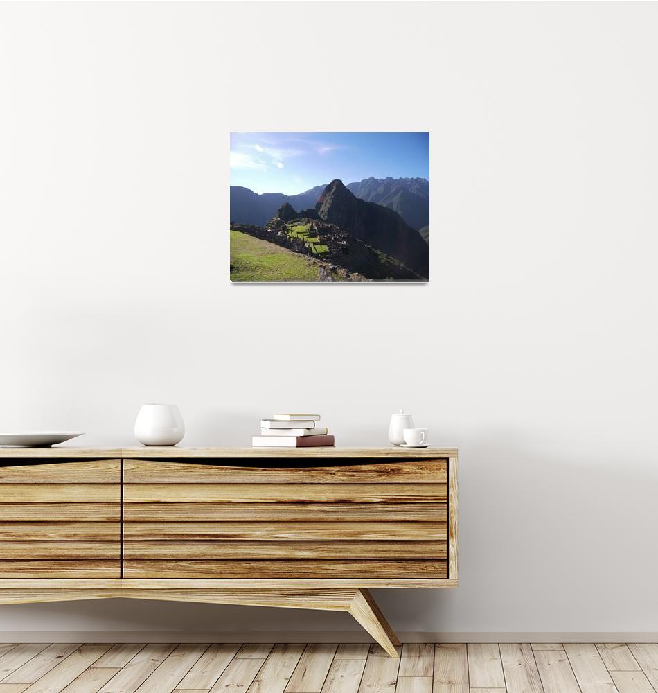 """Machu Picchu 8""  (2007) by burnsgolf"