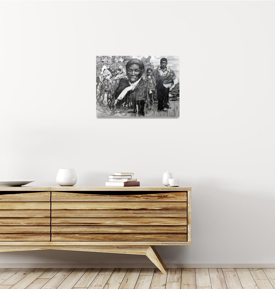 """""""Harriett Tubman: Journeys""""  (1999) by randymcswain"""
