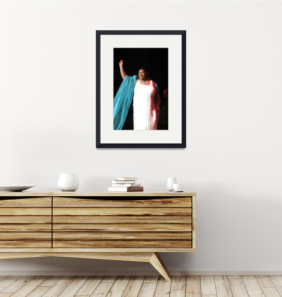 """""""Singer Aretha Franklin""""  by FrontRowPhotographs"""