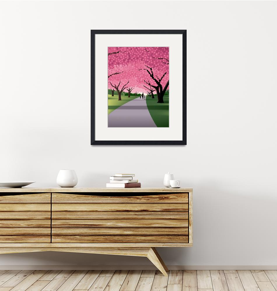 """""""Cherry Blossoms""""  (2020) by johnwtomac"""