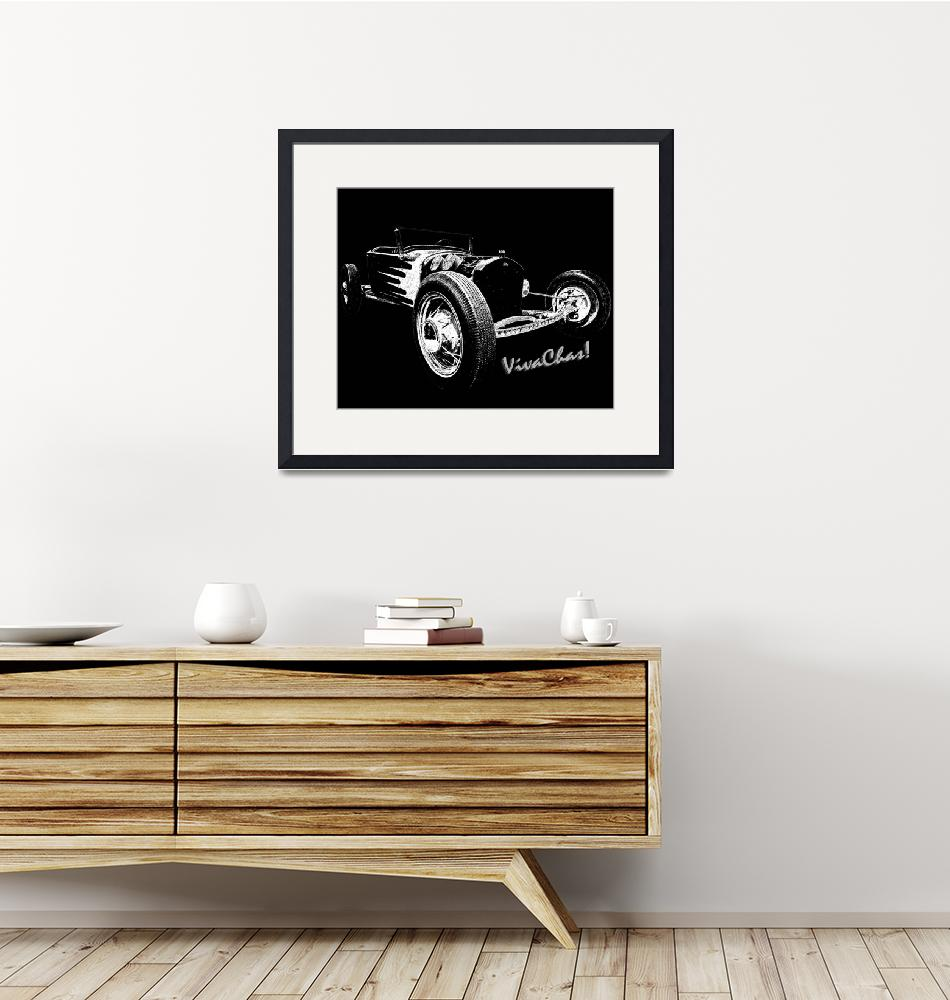 """""""Drawing Rat Rod""""  (2013) by chassinklier"""